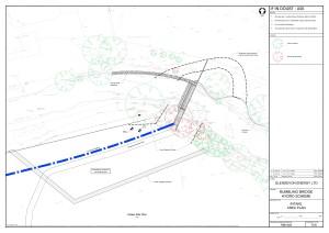 Plan of Weir & Intake