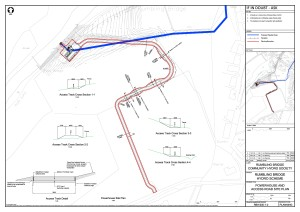 RBH-300-1-2 Rev 2 Powerhouse and Access Road Site Plan